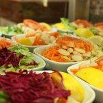 piyaz- beans salad