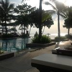 Sunset shot from the pool. Book this hotel!