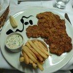 Main course - wienerschnitzel