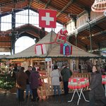 Montreux Christmas Market Local Food Court