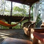 Casa Bambu living room