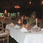 Zelt-Restaurant