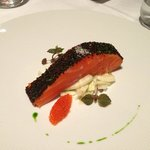 Confit of Petuna Ocean Trout with Fennel (Ocean Trout Caviar)