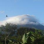 the volcano under her shroud