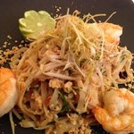 Thai Pad Thai with king prawns