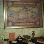 Santa's Map Of The World