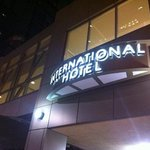 international Hotel and Suites front entrance