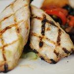 Grilled Marinated Chicken Breast.