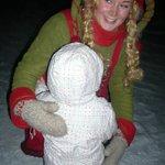 Elf with child