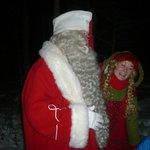Santa himself & Elf