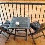 HABITACION 110 terraza