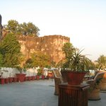 View of Hatrohi fort from Dining.