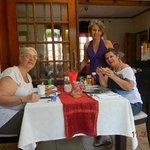 café da manhã no Mizizi