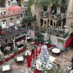 The Spanish Courtyard in December