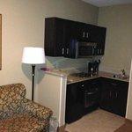 Mews suite kitchenette area