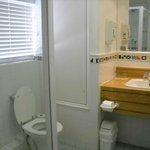 Bathroom shower and sink-room 208