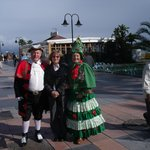 colourful characters on the Paseo Maritimo