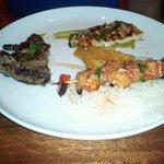 Shrimp and Churrasco Steak