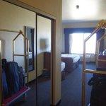 couloir dans la chambre