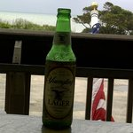 ocean and cold beer: Lou's Blues