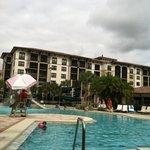 St. Augustine pool.