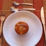 Muffin caseiro. Hmmmmm!