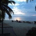 Another beautiful sunrise from cabana 2.