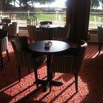 My regular spot to enjoy a spot of lunch (Garden Terrace bar)