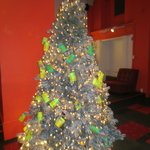 Warhol-style Campbell Soup Can Christmas Tree