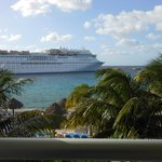 Be prepared to see lots of cruise ships