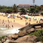 Ponta da praia - Morro do Jucu