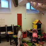 Children's Playroom in an old prison room