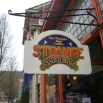 Strange brew front entrance