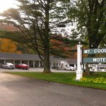 Fall Foliage at the Mt. Coolidge Motel, Lincoln, NH