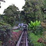 Funicular/ Tram to upper level of resort