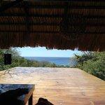 Main lodge during the day- sun/yoga deck