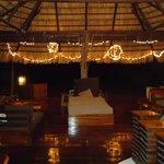 Main Lodge at night- beautiful!