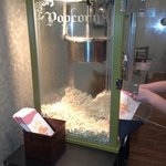 Free popcorn each evening