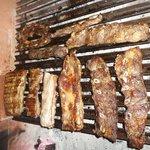 Tradicional asado argentino