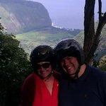 happy honeymooners atv-ing!