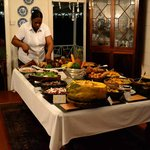 Wednesday Night West Indian Buffet (must try!)