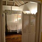 Yellow Manor House master bedroom