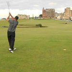 18th Tee @ St. Andrews