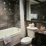 Nice, roomy bathroom