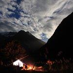 wilderness riverside camping