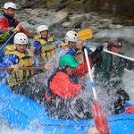 Extreme heli rafting on the Whataroa
