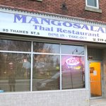Mango Salad Front of Building