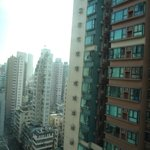 We stayed at the 20th storey. It is amazing how HK can build such long and slender buildings