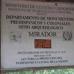 Monumento Prehisponico Sitio Arqueologico El Mirador, Peten, Guatemala