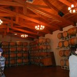 The Barrel Room at the winery